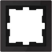 D-Life РАМКА 1-постовая, ЧЕР. ОНИКС , SD MTN4010-6503