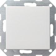 Клавишный выключатель с самовозвратом проходной 10 А / 250 В~ в сборе Gira System 55 Белый